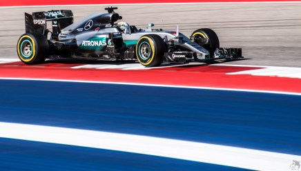 Lewis Hamilton making the United States Grand Prix his own personal hunting grounds