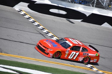 Former NXS winner Stephen Leicht would end up finishing 38th during Saturday's NASCAR Racing Experience 300.