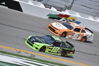 Brad Keselowski (12) and Josh Williams (36)