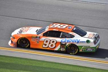 Chase Briscoe was fastest during opening practice at Daytona.