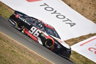 Parker Kligerman ended up sixth fastest in final practice
