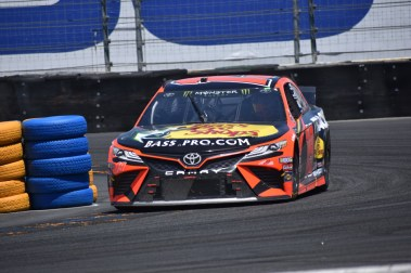 Martin Truex, Jr. would lead 59 of 90 laps in the Toyota/Save Mart 350.