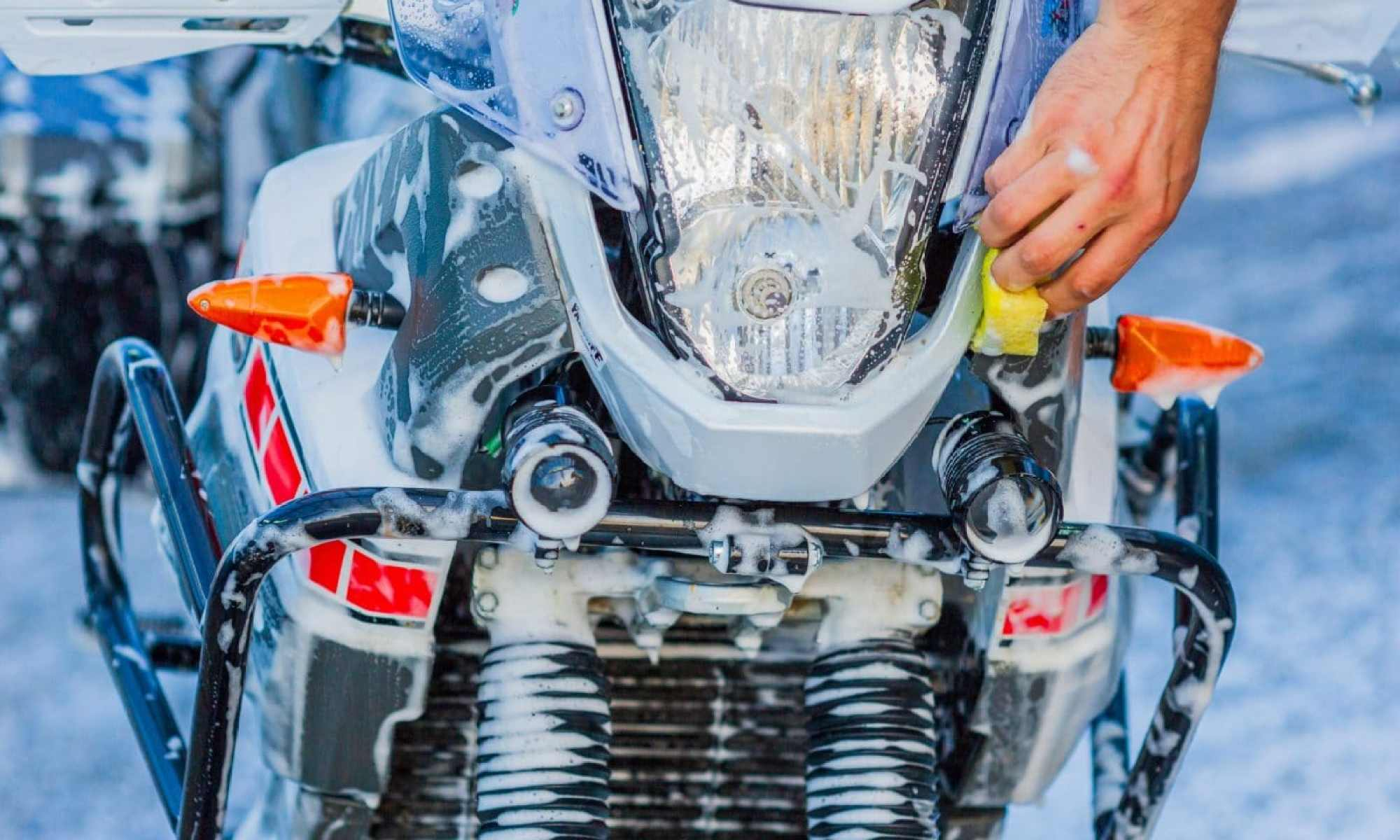 motor wassen wasstraat
