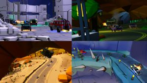 4 Screenshoot of Motor Strike