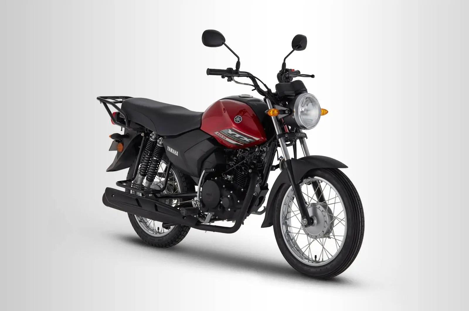 Backbone Frame Motorcycle