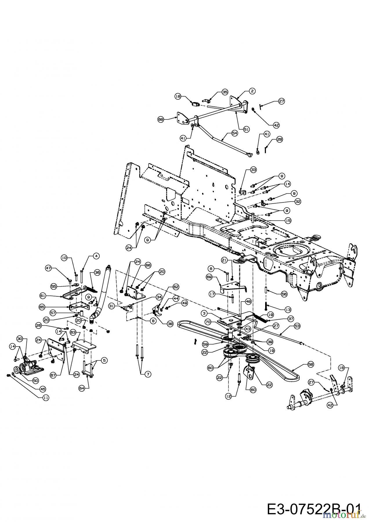 Massey Ferguson Rasentraktoren MF 41-22 RD 13BF91CN695