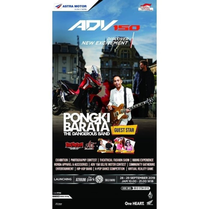 Launching Honda ADV 150 Solo