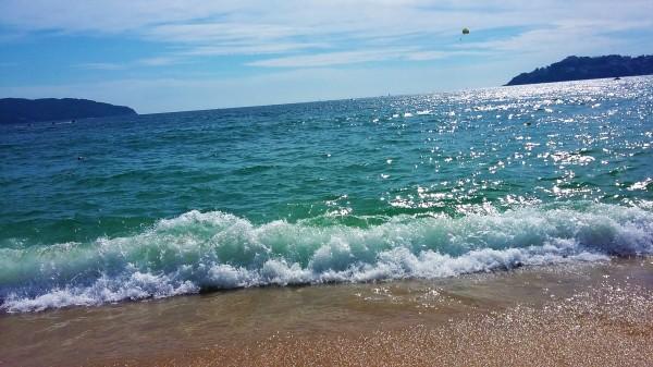Mar de Acapulco, no lo recordaba tan bello