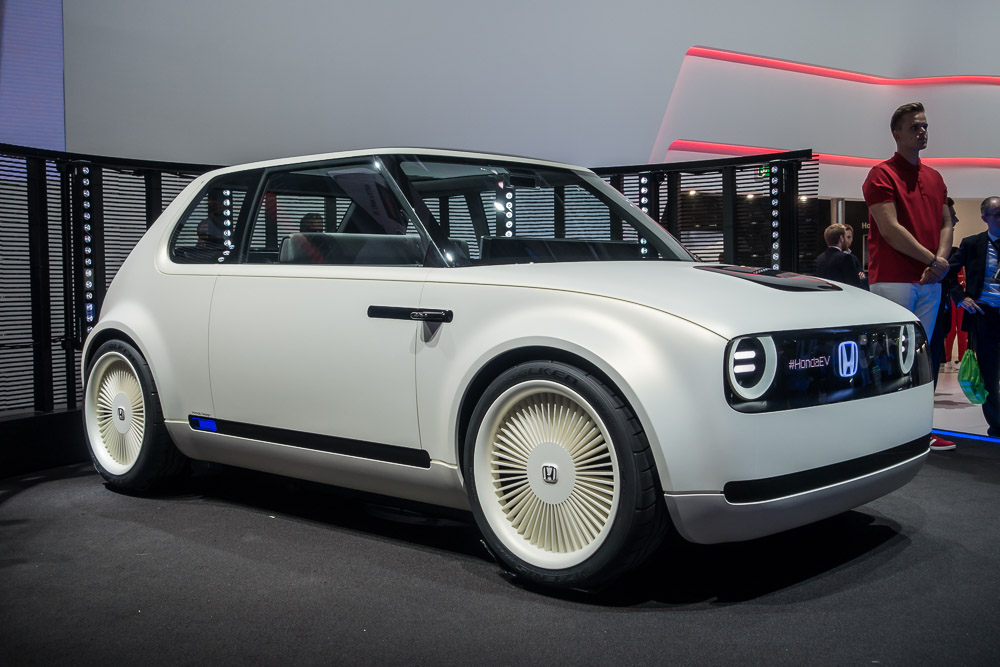 Honda Commits To Electrified Technology  Urban Ev Concept