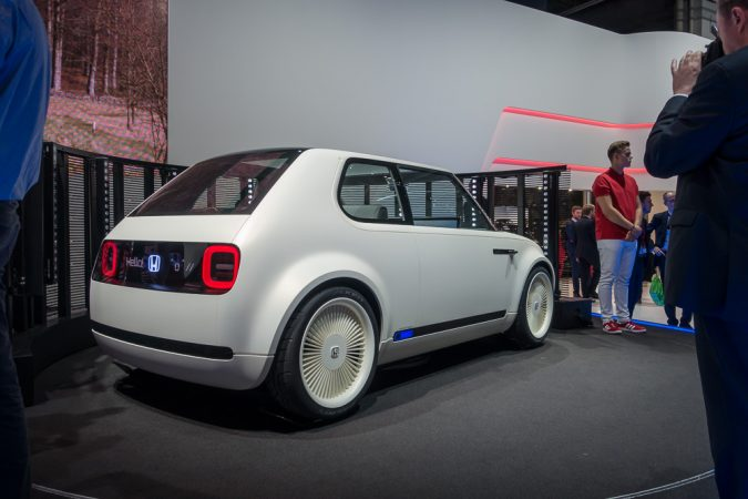 Honda Commits To Electrified Technology  Urban Ev Concept