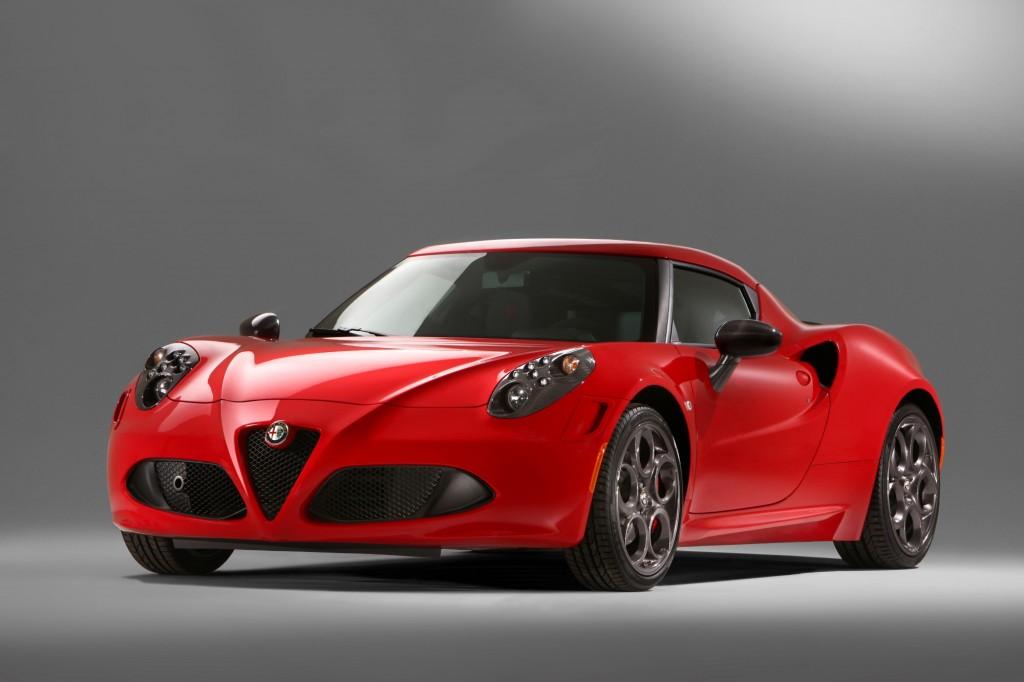 2014 Alfa Romeo 4c  New Pictures