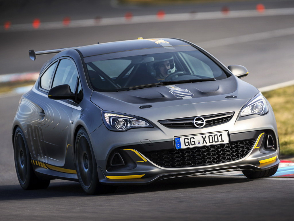 Up Close With Opel Astra Opc Extreme