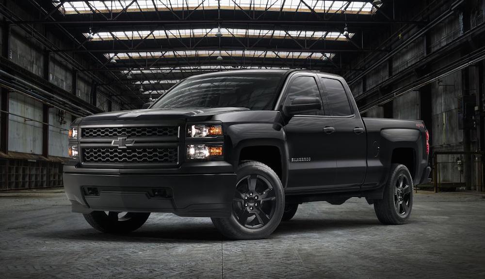 2015 Chevrolet Silverado Blackout Edition  2017 2018