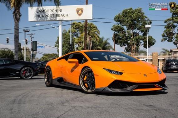Supercharged Lamborghini Huracan On Sale For $400k