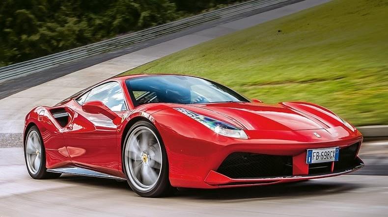 Watch Ferrari 488 Gtb Tackle Nurburgring, Hockenheim And