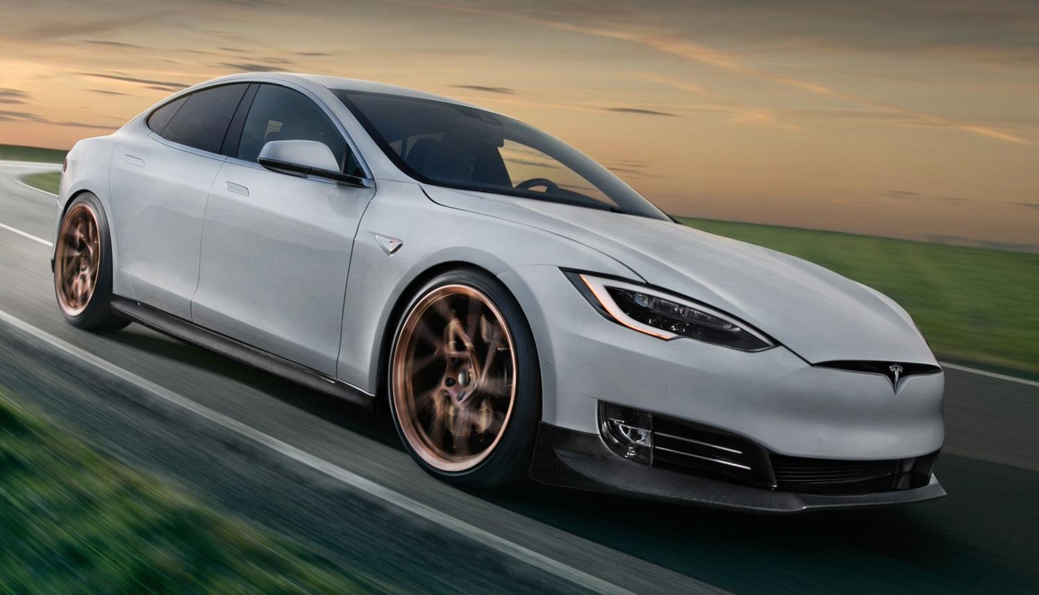 Novitec Tesla Model S Features Subtle Improvements