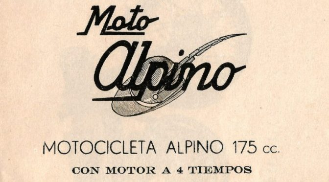 Mantenimiento Alpino 175 4T