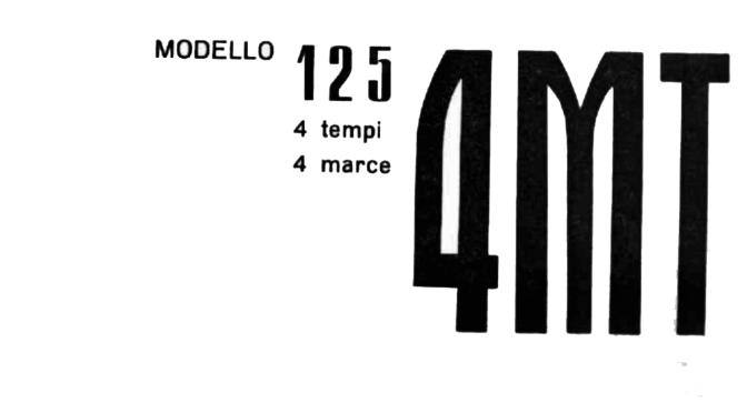 Despiece Mi-val 125 – Modelo 4MT