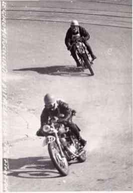 Duelo durante la carrera