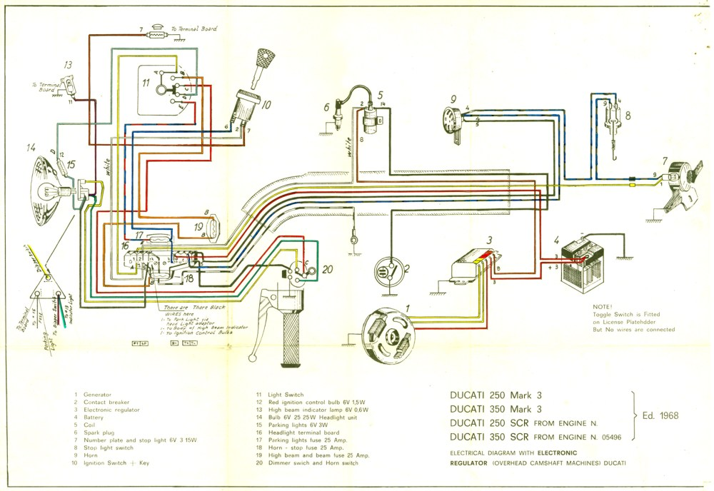 medium resolution of ducati singles technical information by motoscrubs com systems magneto booklet with schematic narrowcase magneto schematic