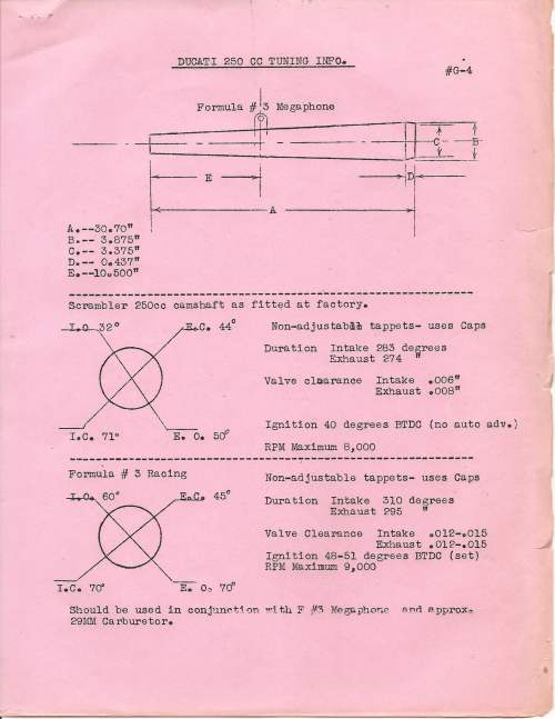 small resolution of  electrical equipment bulletin g 4 ducati 250cc tuning info