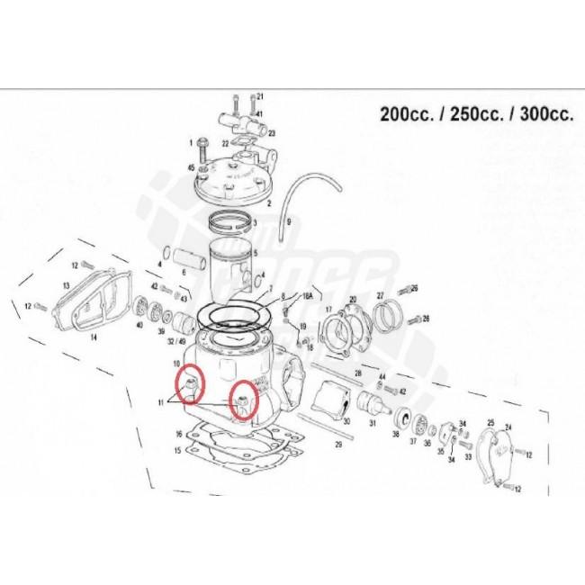 TUERCA CILINDRO GAS GAS EC 200/250/300