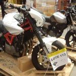 Receita Federal faz leilão de motos apreendidas e outras mercadorias