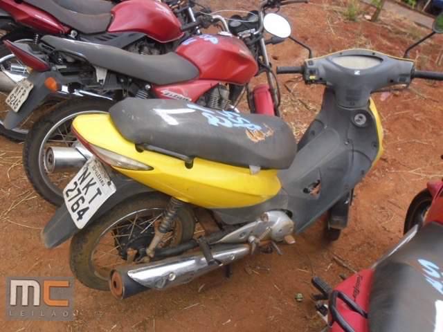 Leilão tem Biz 2008 por R$ 300