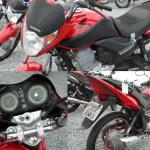 Leilão do Detran tem motoHonda CG150 Titan por R$914,29