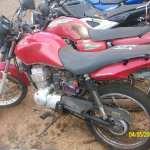 Leilão de veículos do DETRAN tem moto Honda CG FAN a R$ 1,1 mil