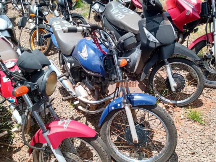 Leilão da PRF tem moto Honda CG 125 com lance inicial de R$403,00