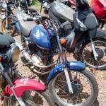 Leilão da PRF tem moto Honda CG 125 com lance de R$403,00