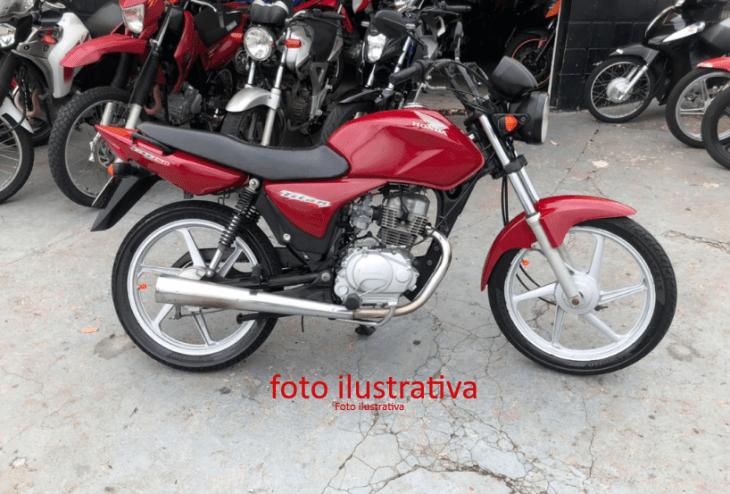 Leilão tem Honda CG 150 Fan ESI com Lance Inicial de R$300