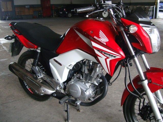 Honda CG 160 Titan EX 2015 vermelha