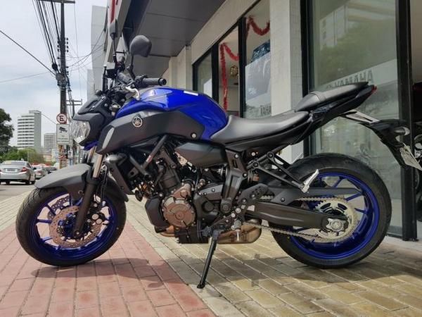 Yamaha MT 07 ABS 2020: prix. spécifications. photos et conception