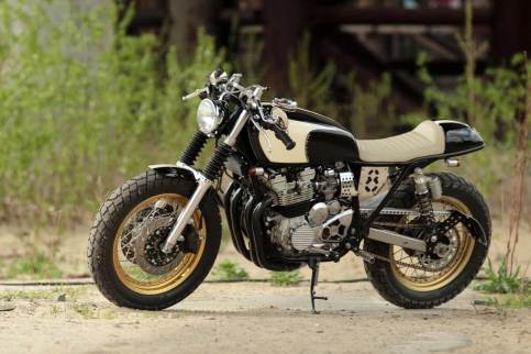 Yamaha XJ400 by Gazzz Garage