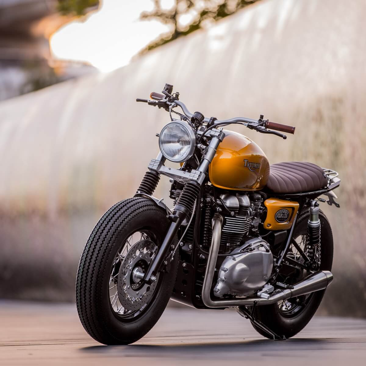 Triumph Thruxton by Down & Out Cafe Racers