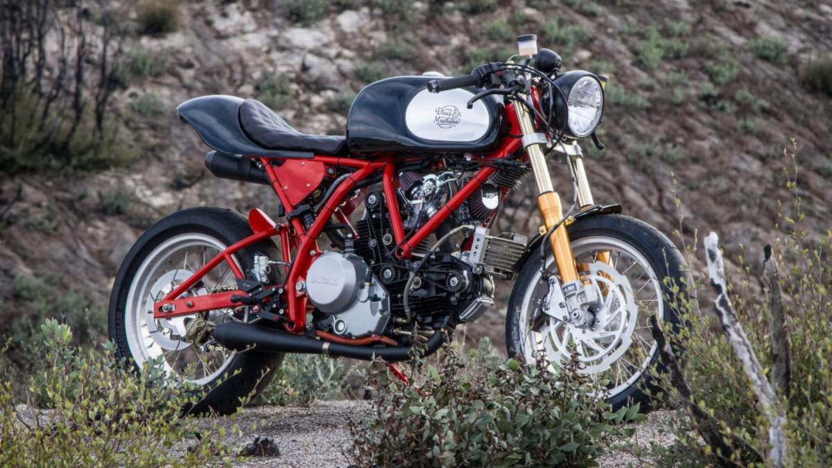 Ducati 750 Dreamliner by Deus ex Machina