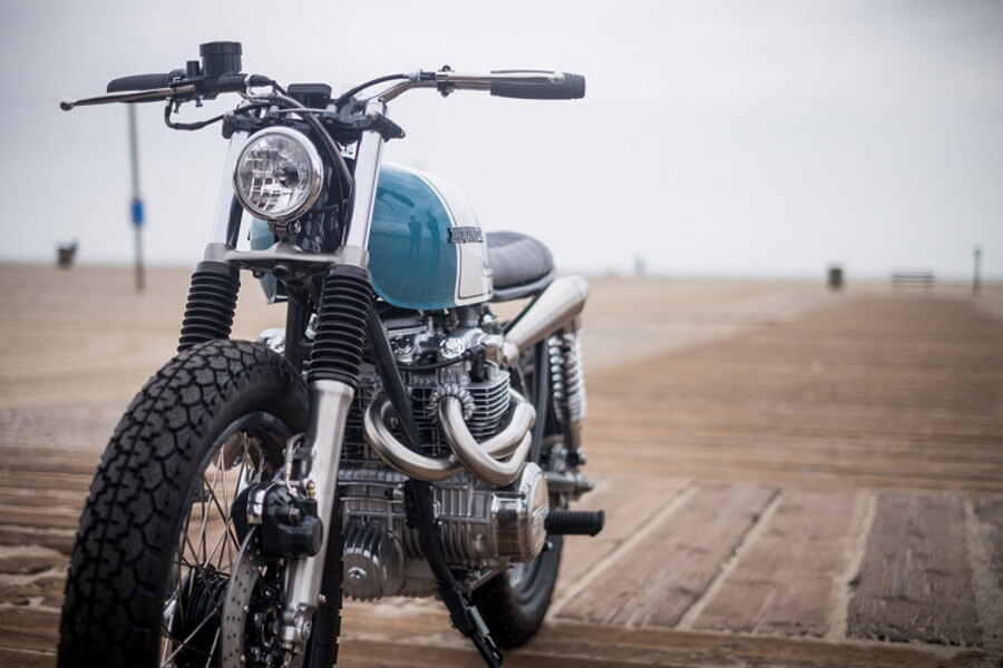 "Honda CB550 ""City Scrambler"" by J.Webster Designs"
