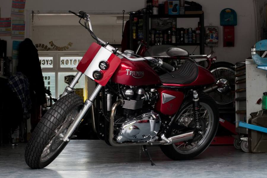 Triumph Bonneville T100 by Foundry Motorcycle