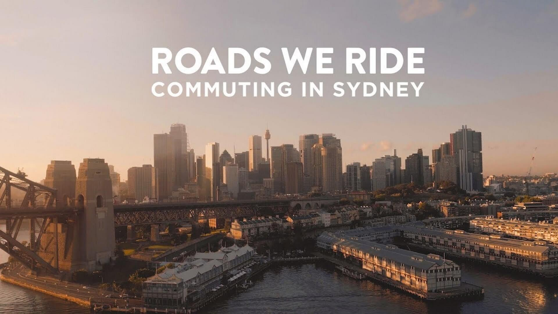Roads We Ride Commuting in Sydney