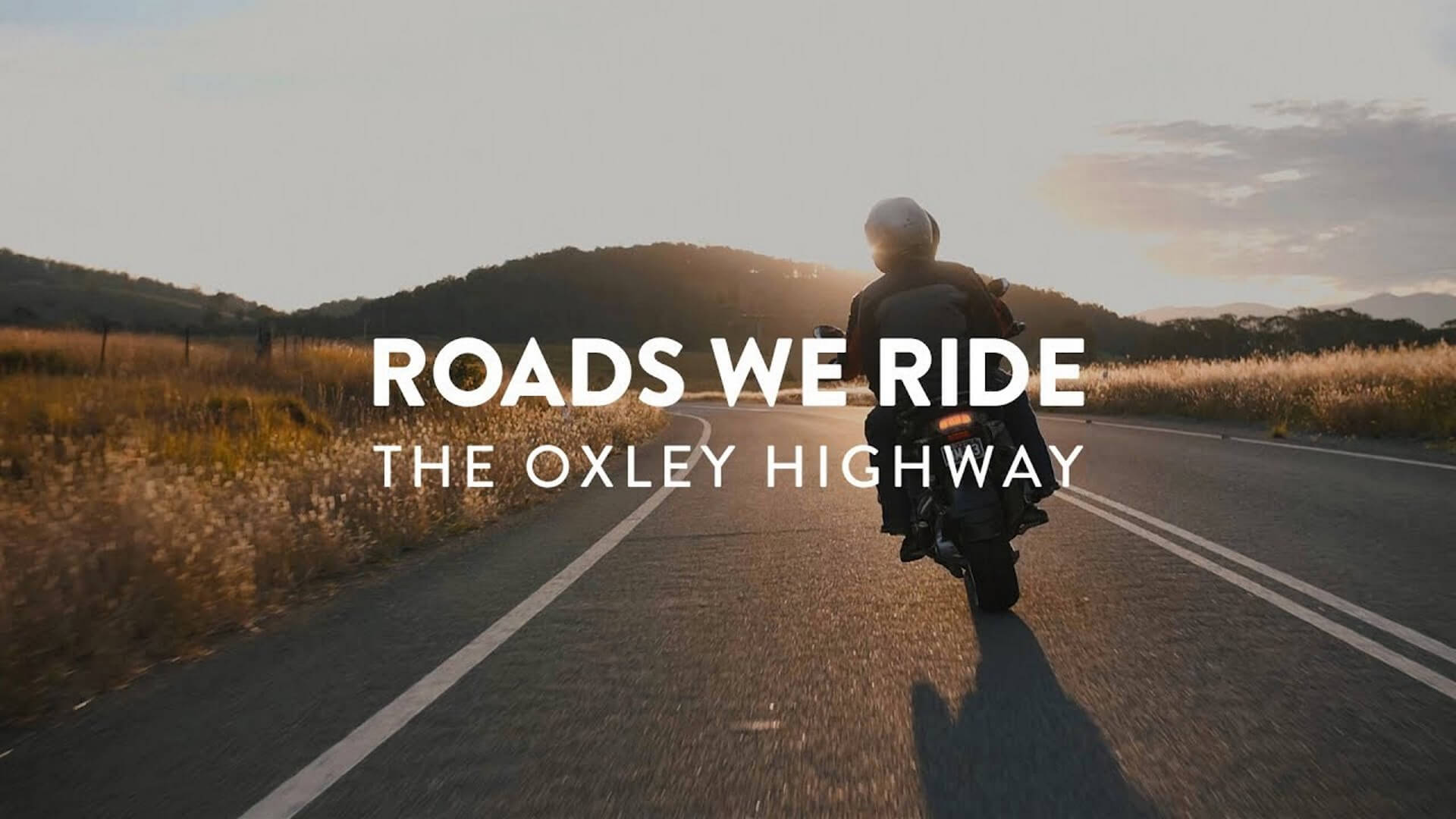 Roads We Ride The Oxley Highway