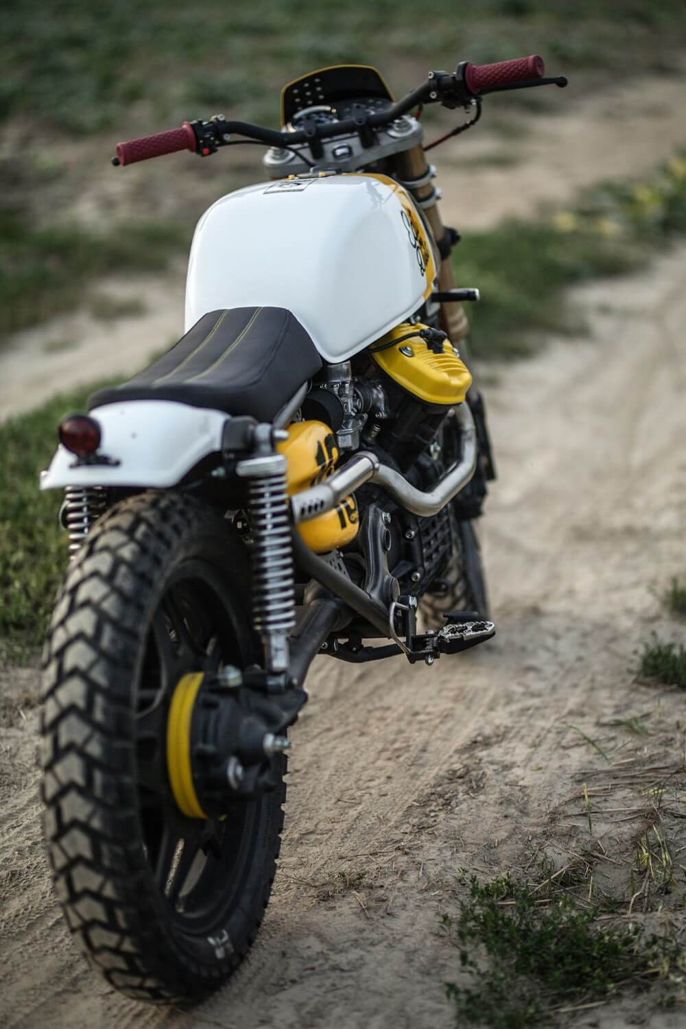 Honda CX 500 par Cardsharper Customs