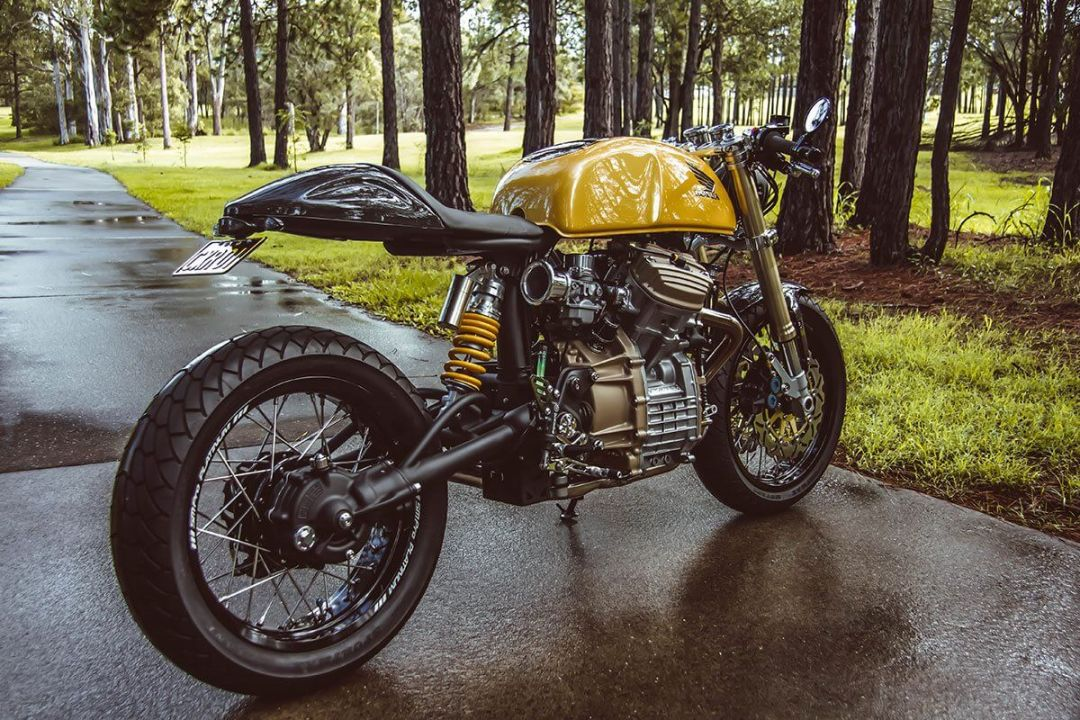 Honda CX500 par Garth Allison