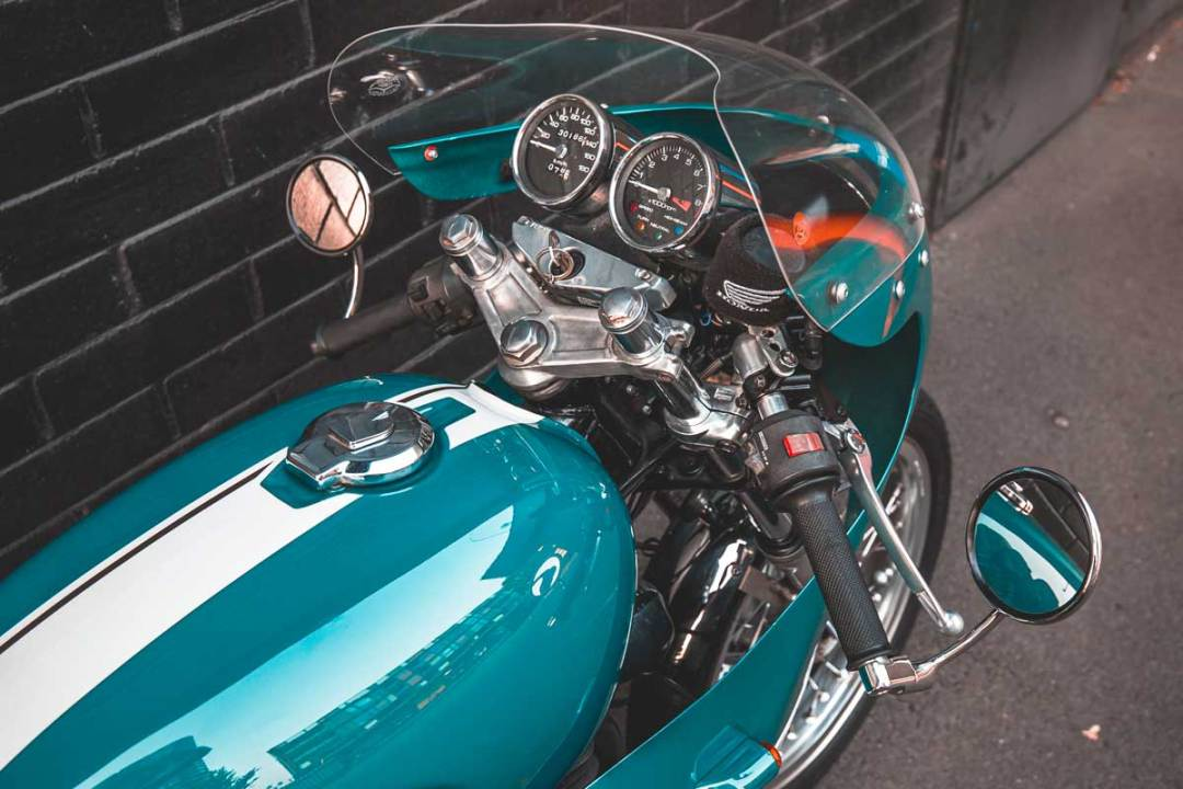 Honda GB400 TT par Sam Troy