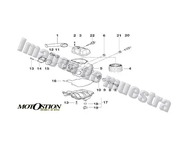Aforador BMW R1200GS 1200 2005-2008 desguace motos