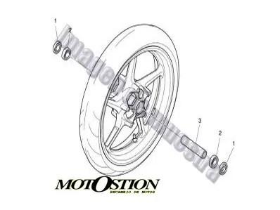 Claxon HONDA HORNET 900 2002-2006 recambio moto