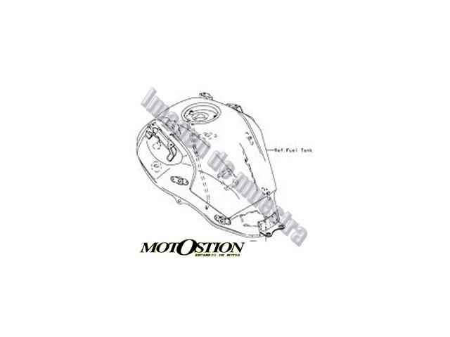 Correa transmision BMW F800S 800 2006-2009 recambios para moto