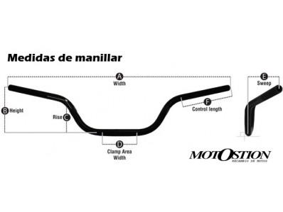Manillar HYOSUNG GT 125 2005-2009 motodesguace