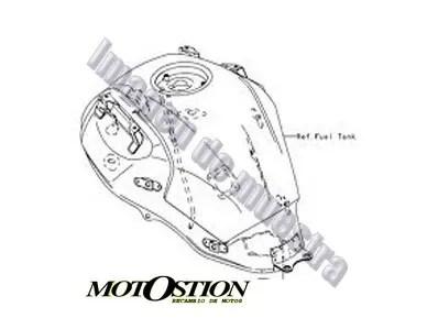 Cilindro de motor SUZUKI BURGMAN 250 1998-2000 moto